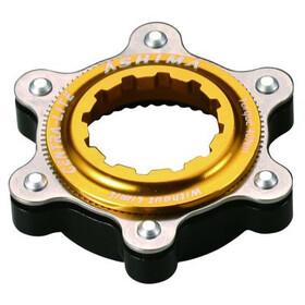 ASHIMA AC02 Centra-Lite Adaptador Centerlock/6-Tornillos, gold